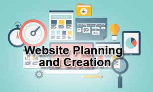Website planning & creation in Wordpress