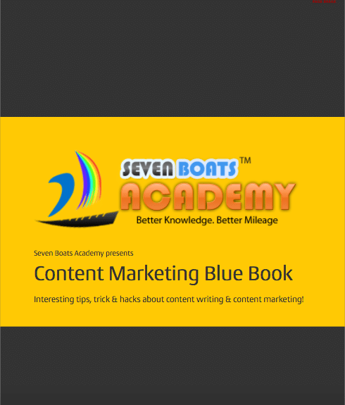 Content Marketing Bluebook by Seven Boats Academy
