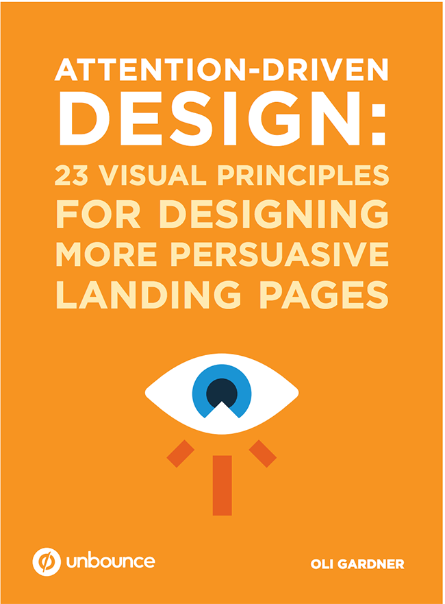 Unbounce ebook Attention-Drive Design cover image]