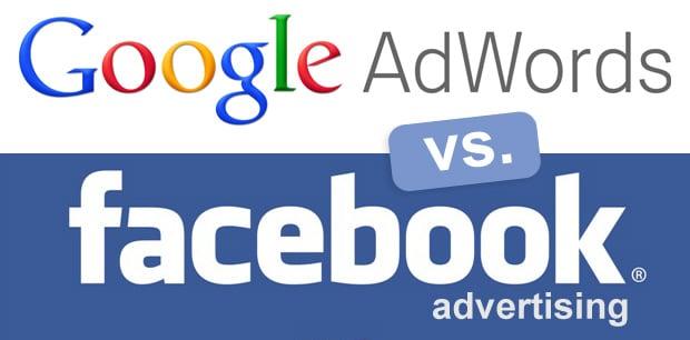 google ad vs facebook ad
