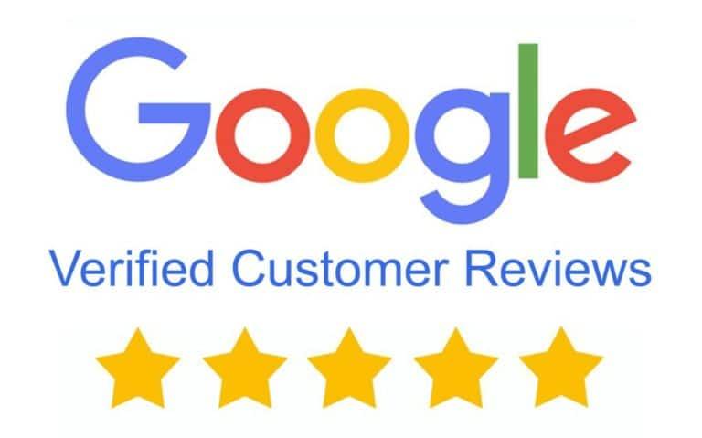 Google verified customer reviews