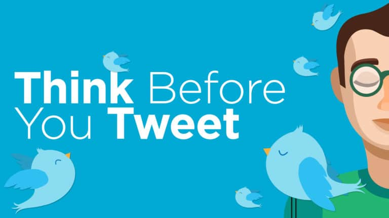 Think before You Tweet: Lessons from UK 1