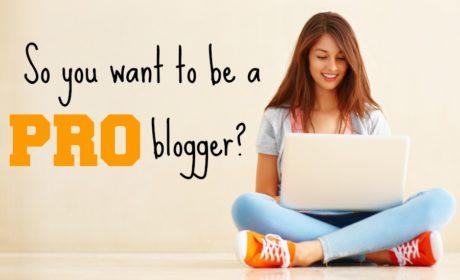 Pro Blogging Course 1