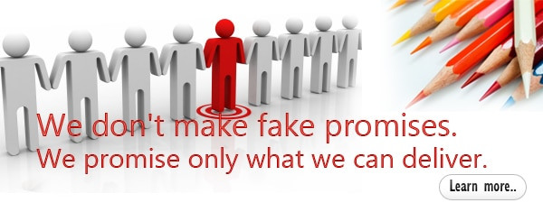We don't make fake promises - 7boats