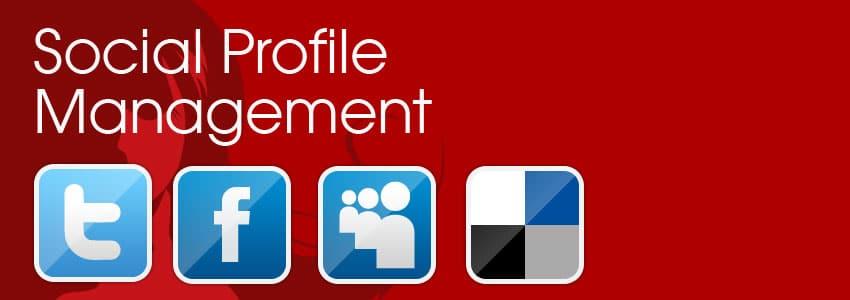 Social profile management service