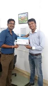 Digital marketing course certificate