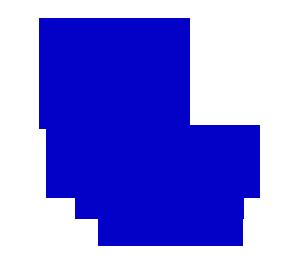 Satisfaction Guarantee 100% - Burst Badge Blue