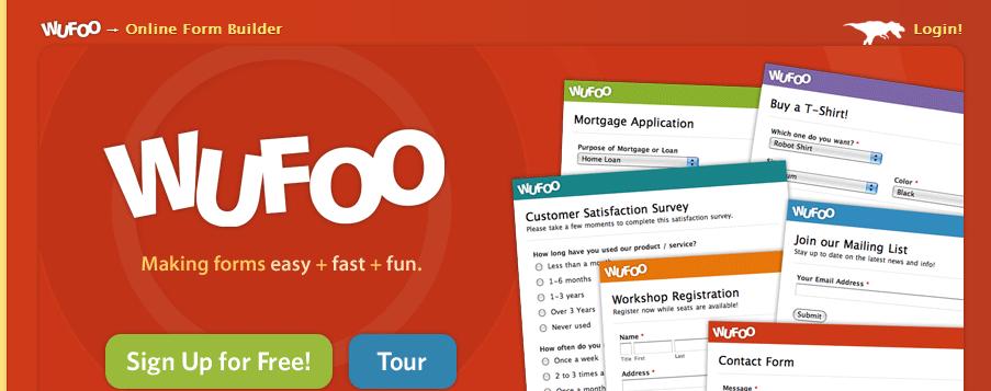 Wufoo Online Web Form Builder