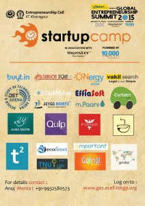 Seven Boats in IIT Kharagpur Startup Camp