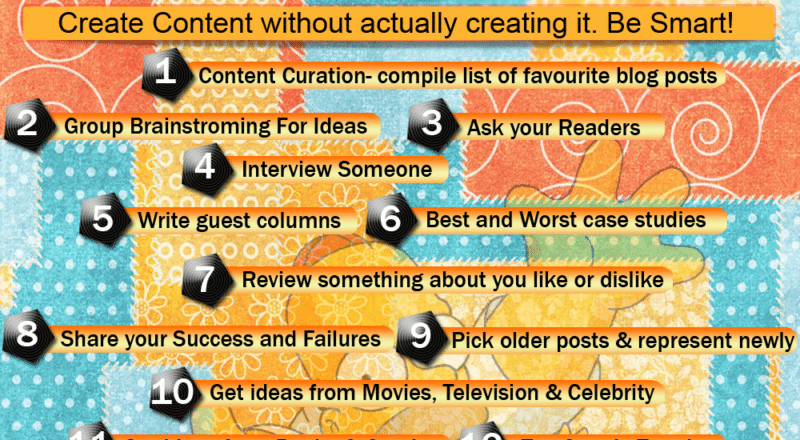 How to get killer content ideas for your blog or website - Infographic