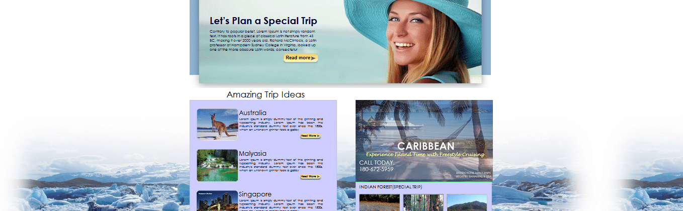 download free travel HTML template, clean travel template, simple travel website template