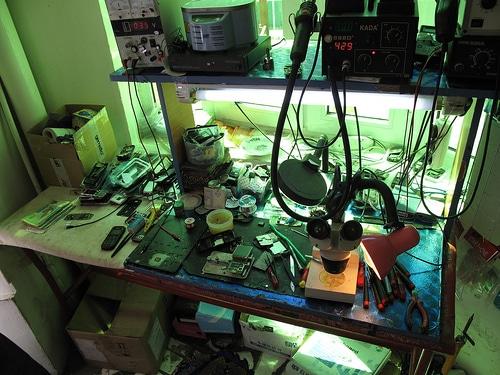 Online cell phone repair training