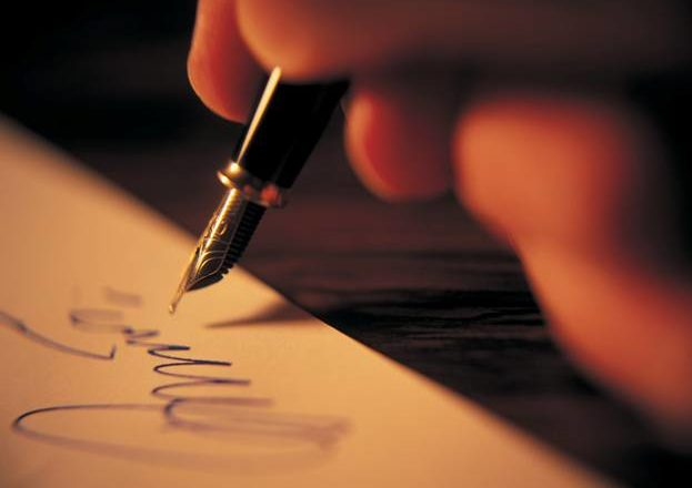 a writer's identity