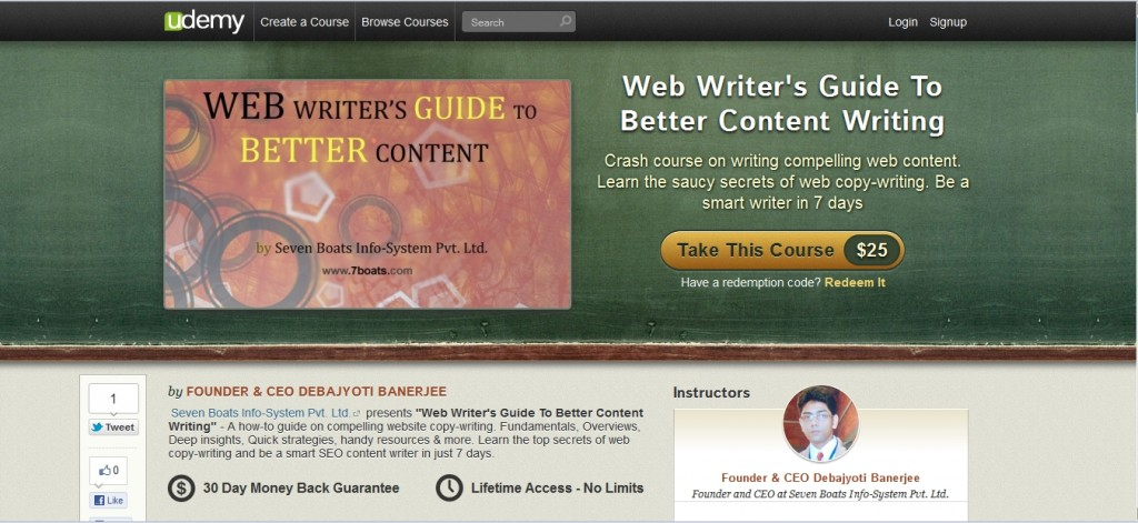 Excellent Course on Web Content Writing for Beginners 1