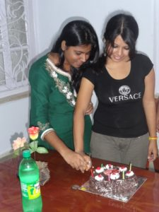birthday celebration at Seven Boats Info-System