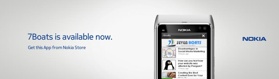 Nokia ovi application 7boats