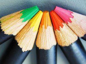 Designing tips - color pencils