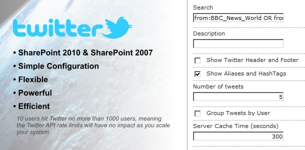 top 10 web parts in share point 6