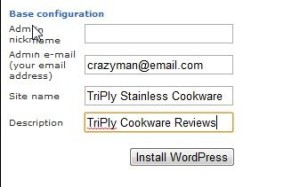 setting up wordpress 4