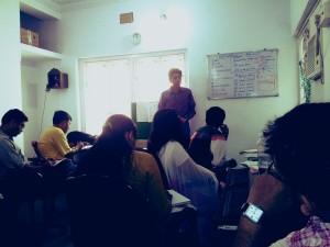 digital marketing live classroom session