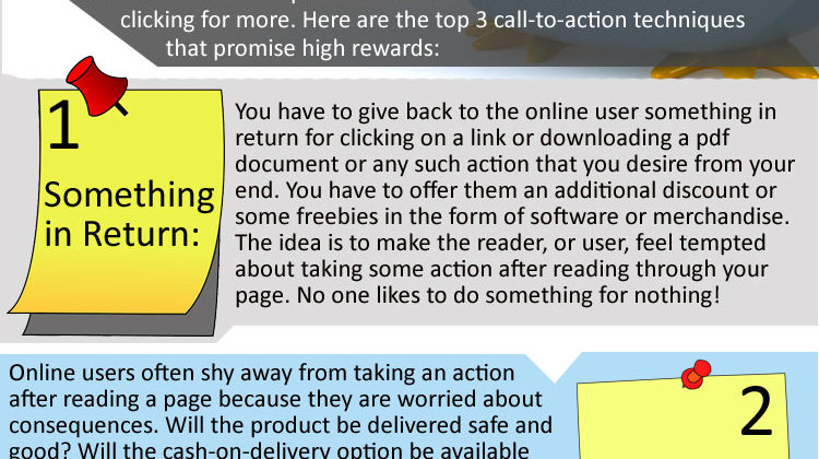 Call-to-Action tips [Infographics]