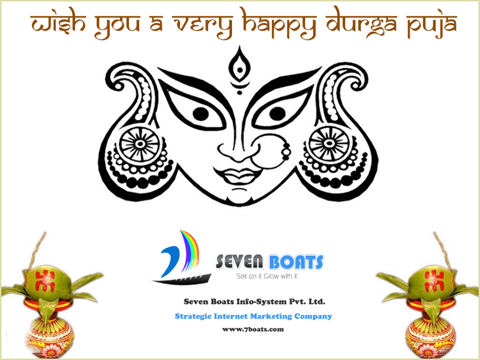 durga puja wishes from seven boats info-system
