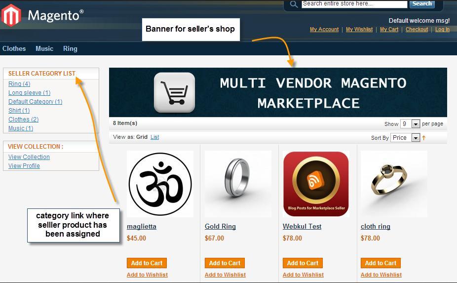 Webkul-Marketplace