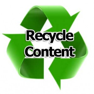 Recycle content