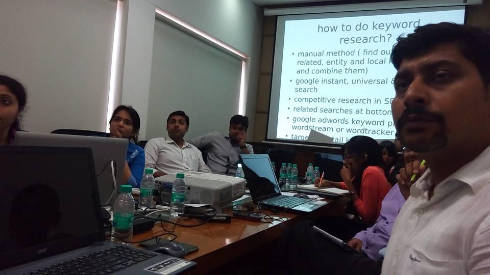 Digital Marketing Workshop at Primarc Group