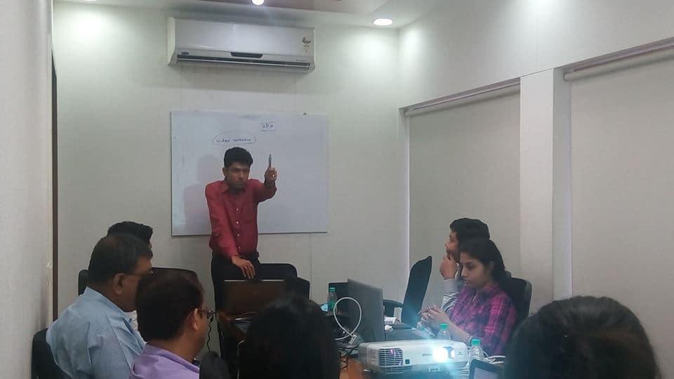 Corporate Training workshop on digital marketing