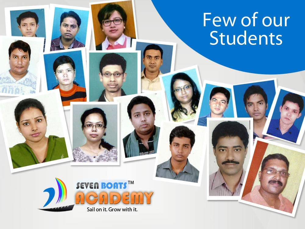 Students attending digital marketing workshops & training at Seven Boats Academy, Kolkata