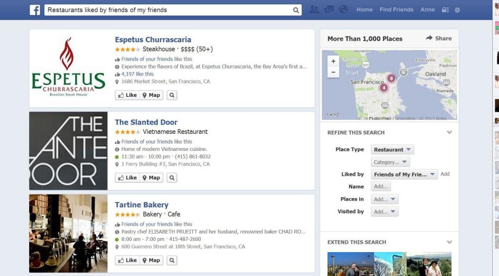 facebook search - top digital marketing predictions for 2015