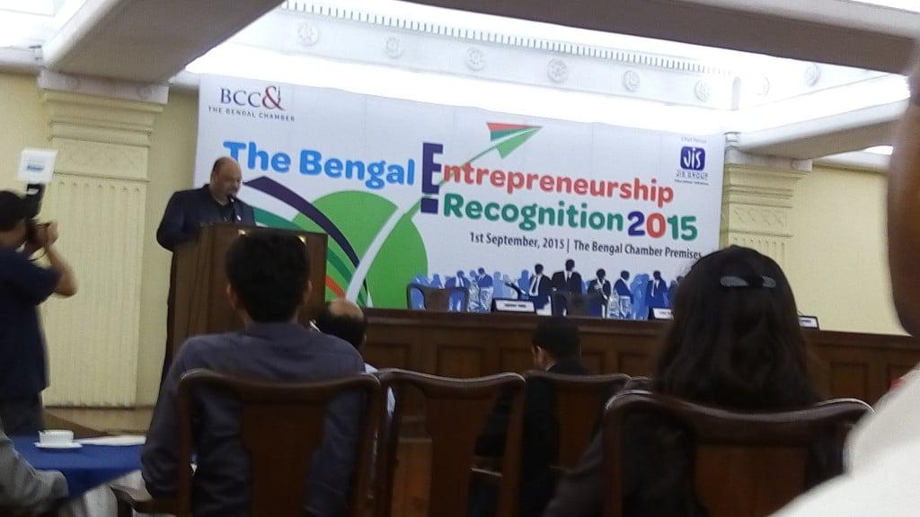 The Bengal Entrepreneurship Recognition 2015