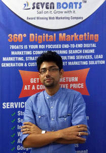 debajyoti banerjee - founder CEO of Seven Boats, Digital Marketing Trainer