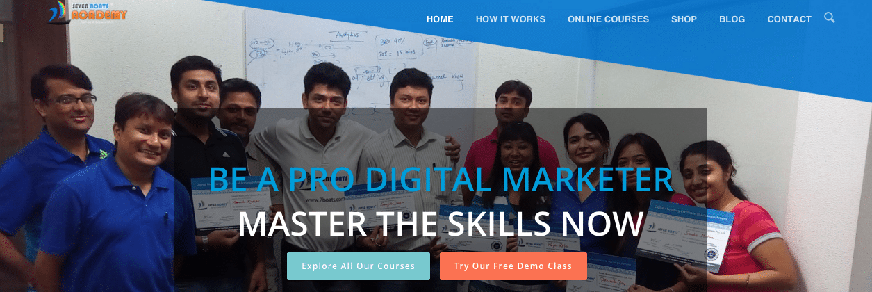 digital marketing online training courses india