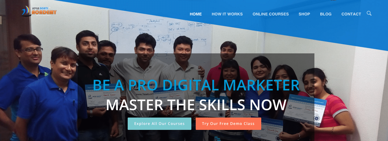 Seven Boats Academy launched Digital Marketing Online Training Course Modules