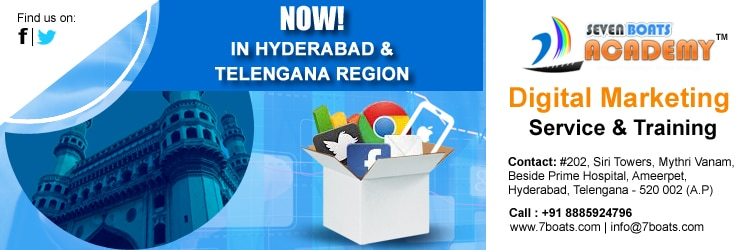 Digital marketing service and training in Hyderabad and Telangana