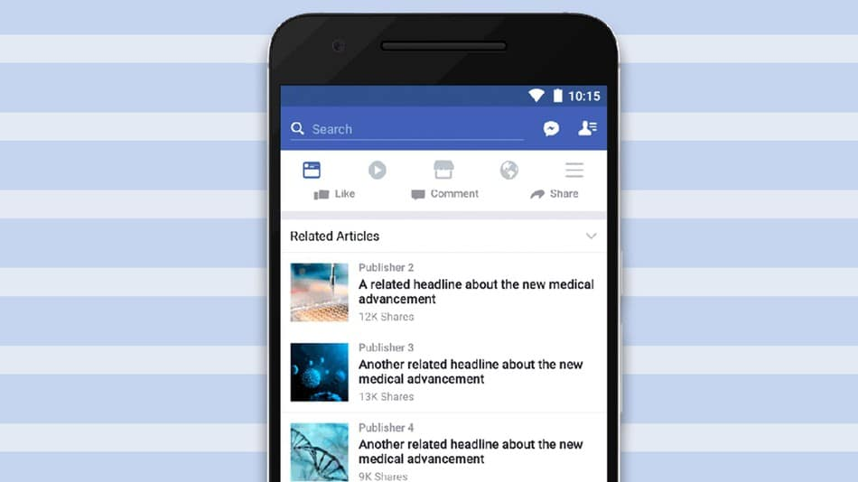facebook related articles