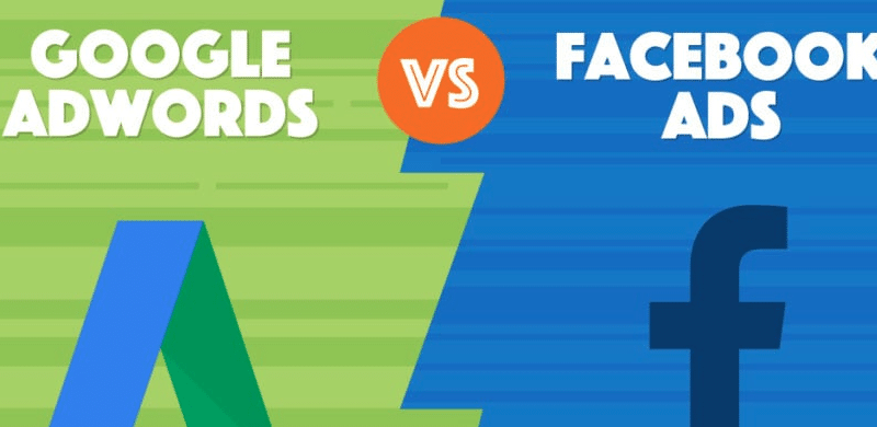 google vs facebook ads