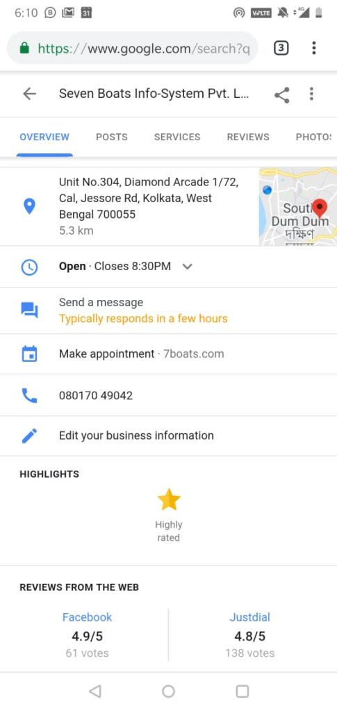 Business Messaging Now Possible on Google Maps 2