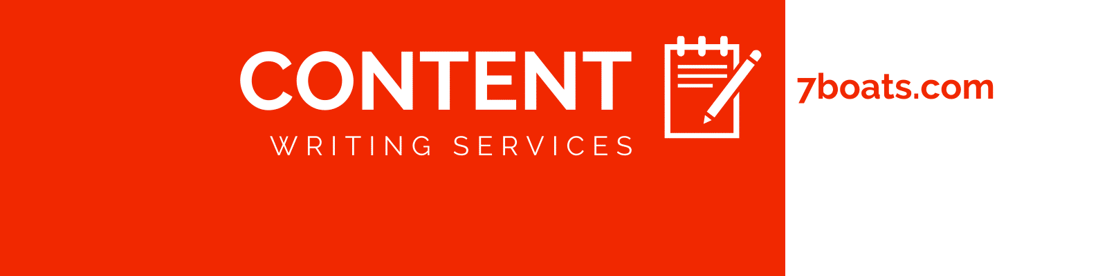 Content Writing Services by 7boats.com