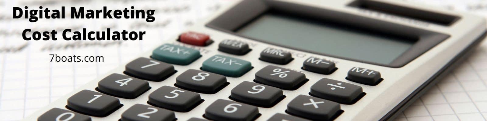 Digital Marketing Cost Calculator